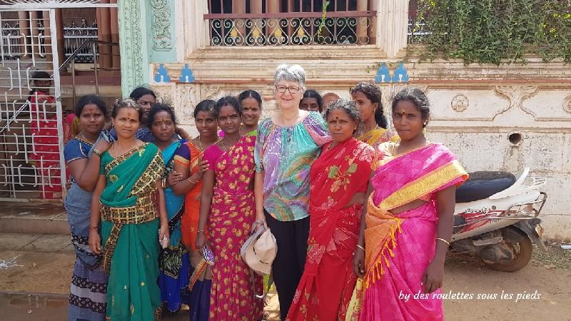 visiter le chettinad indiennes devant lashmi house