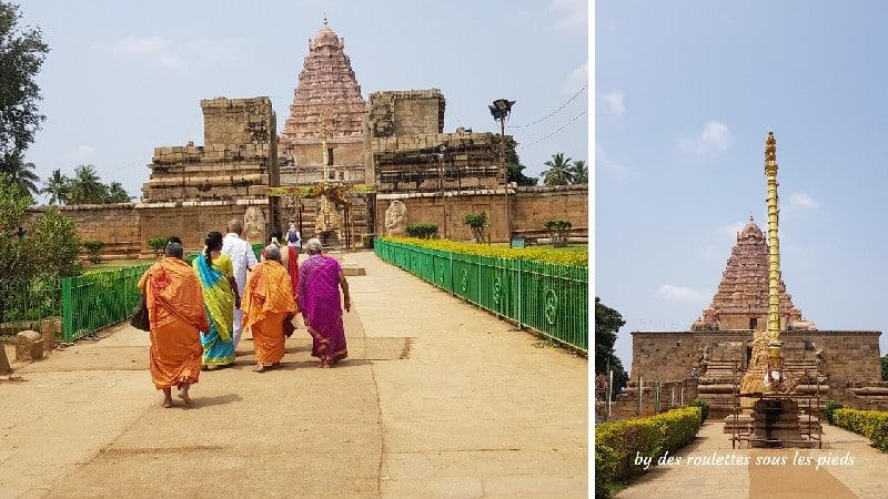 visiter la région de tanjore au tamil nadu gangaikondacholapuram temple
