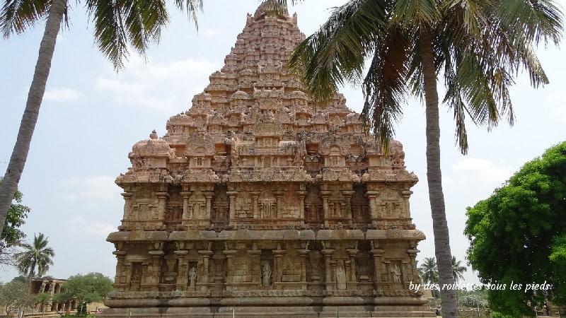 visiter la région de tanjore au tamil nadu le char gangaikondacholapuram temple