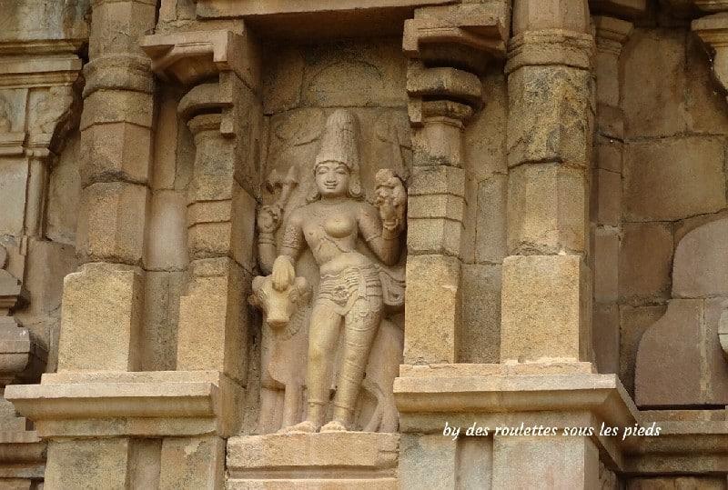gangaikondacholapuram temple forme androgyne de shiva