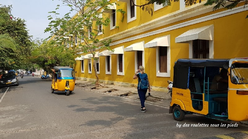 visiter-mahabalipuram-et-pondichery ville blanche