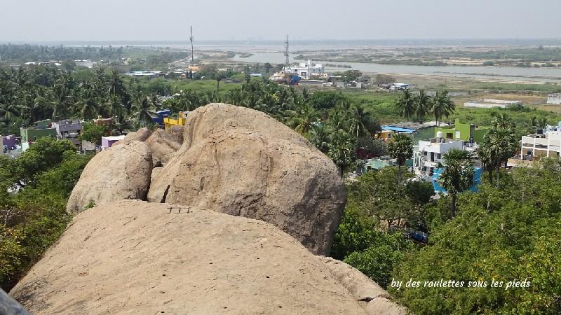 visiter-mahabalipuram-et-pondichery le temple de la colline
