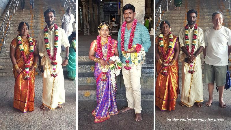 visiter la région de tanjore au tamil nadu les mariés de swamimalai temple