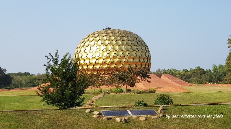 visiter-mahabalipuram-et-pondichery le matrimandir