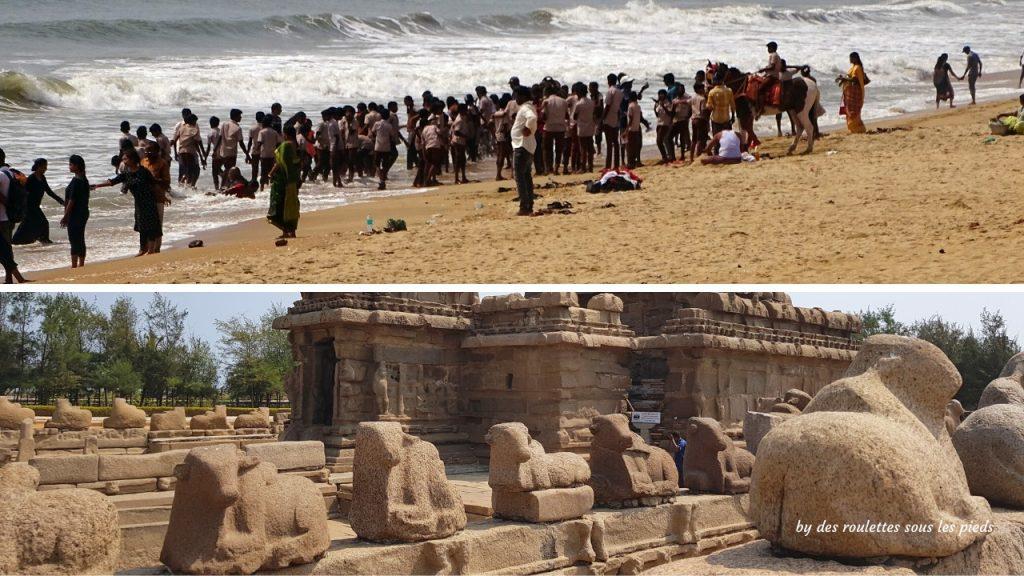 visiter-mahabalipuram-et-pondichery le temple du rivage