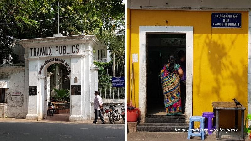 visiter-mahabalipuram-et-pondichery anciens bâtiments français
