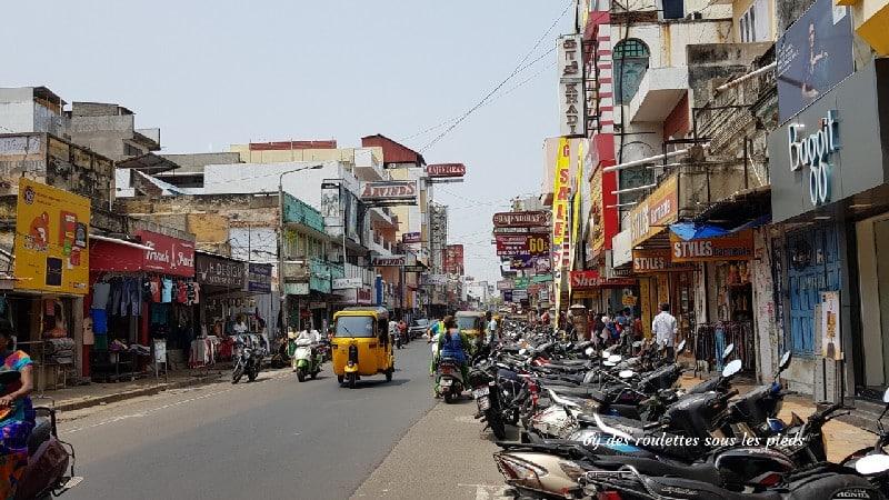 visiter-mahabalipuram-et-pondichery quartier Tamoul