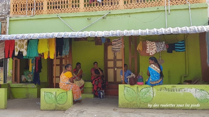 visiter le nord-ouest du tamil nadu femmes au village d'Athoor