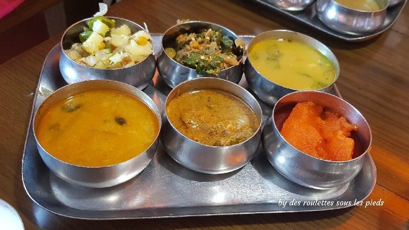 visiter nord-ouest du Tamil Nadu  thali