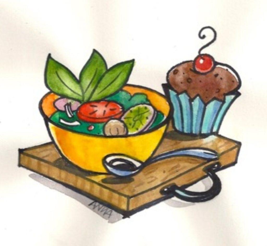 illustration anna petrov recettes de cuisine saine et gourmande