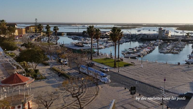 visiter Faro et sa région le port
