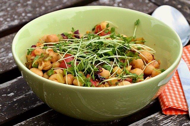 recettes de cuisine saine et gourmande salade de pois chiches