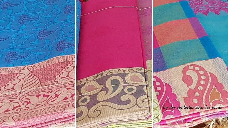 visiter nord-ouest du Tamil Nadu saris en coton