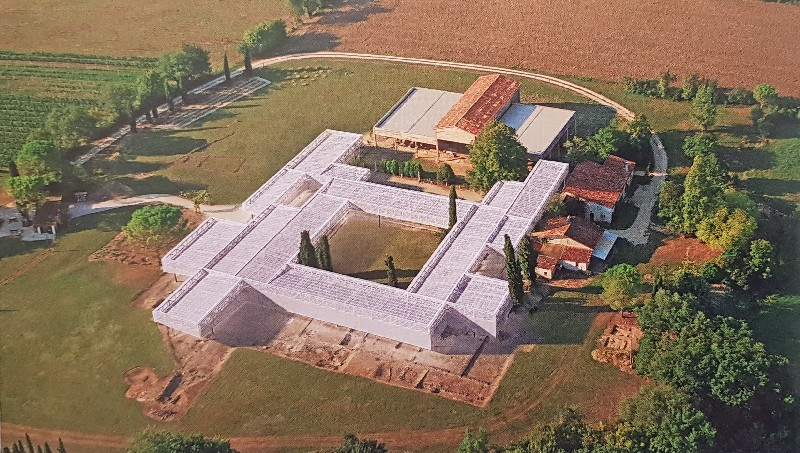 villa gallo-romaine de séviac depuis 2008