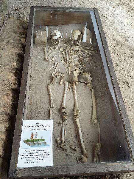 villa gallo-romaine de séviac sarcophage