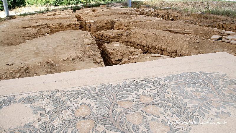 villa gallo-romaine de séviac hypocauste et mosaïque