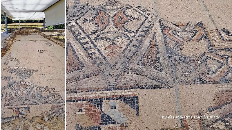 villa gallo-romaine de séviac mosaiques