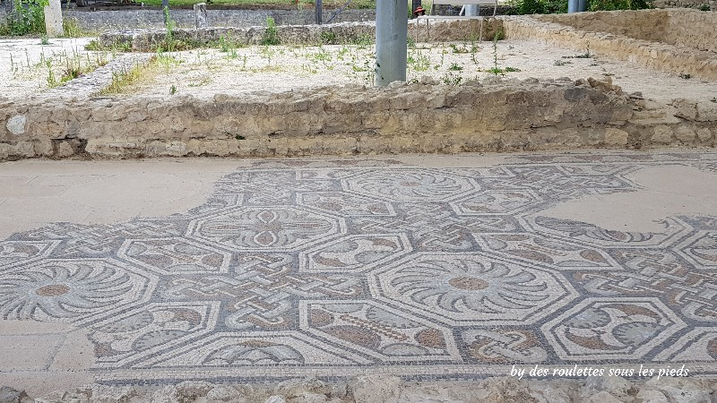 villa gallo-romaine de séviac galerie sud