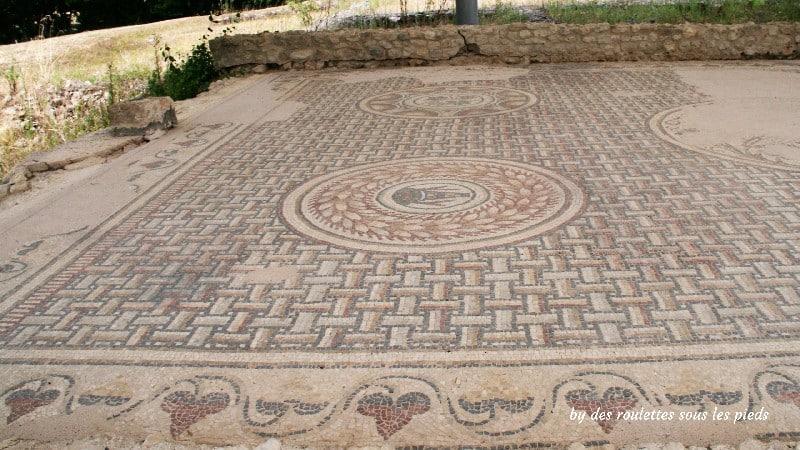 villa gallo-romaine de séviac mosaïque salle à manger