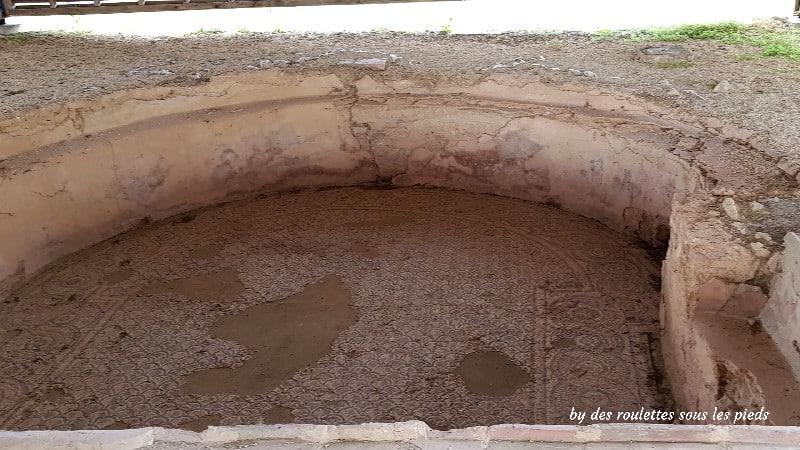 villa gallo-romaine de séviac piscine