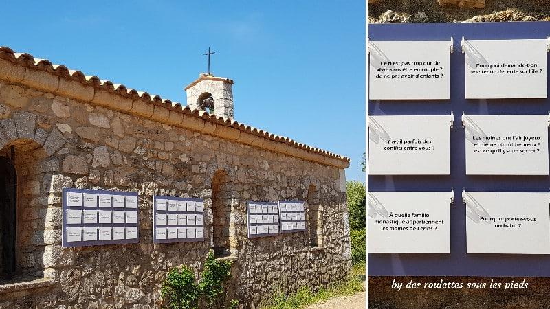 Visiter l'île Saint Honorat questions aux moines